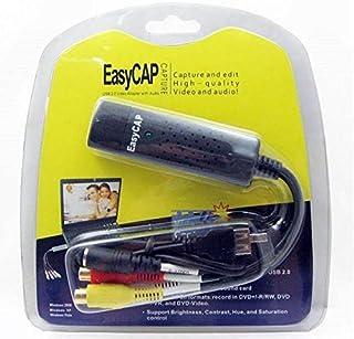 وصلة EasyCap الخاصة بنقل الفيديوهات من الكاميرات و الرسيفر للحاسب
