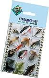 Streamer Angelset 12 Forellenstreamer Forellen Fliegen Angel Set Raubfisch Köder Hechtstreamer...