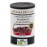 Aromas de Café - Café De Santo Domingo - Molido - Procedente de Barahona - Intensidad Suave - Sabor Agradable - Rico en Minerales y Antioxidantes - 100 gr.