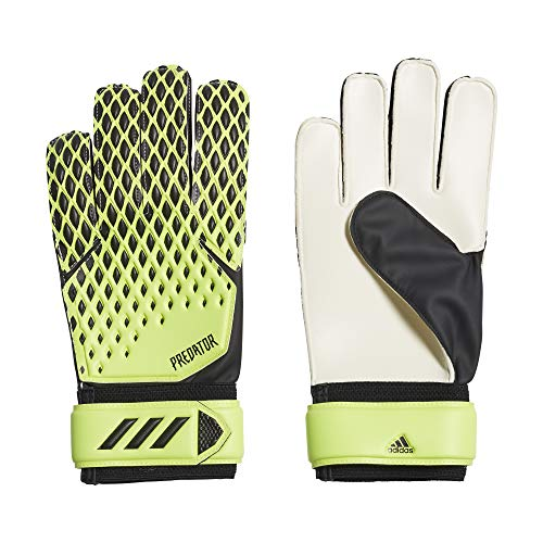 adidas PRED GL TRN Soccer Gloves, Unisex Adulto, Signal Green/Black, 11