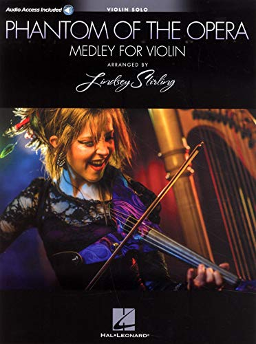 Phantom of the Opera - Lindsey Stirling Medley (Violin With Original Audio Backing Tracks): Noten, Play-Along für Violine