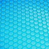 Mendler Telo Copertura isotermica per Piscina PE 400 Micron Rettangolare 10x5m Azzurro