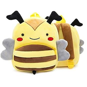 Abshoo Plush Bee Girls Toddler Backpack For Boys Preschool Bookbags