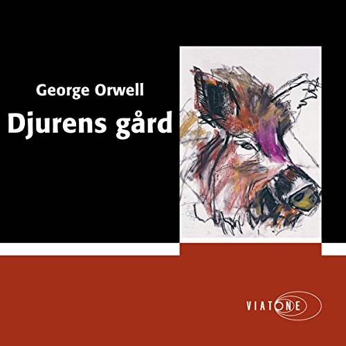 Djurens gård [Animal Farm] audiobook cover art
