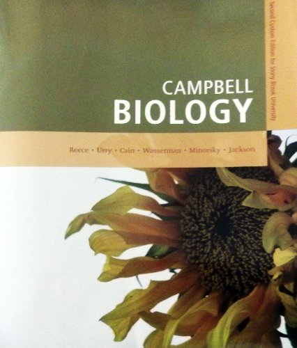 Campbell Biology, Second Custom Edition for Stony Brook University