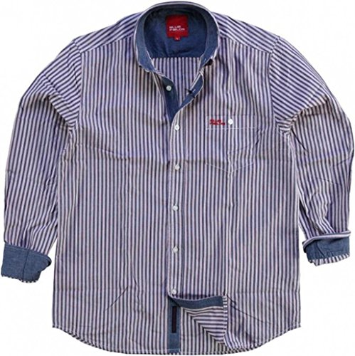 Fields of Blue - Chemise casual - Homme - Multicolore - Large