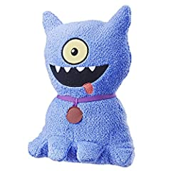 30+ sounds and phrases: Ugly dog talking plush toy has more than 30 movie-inspired phrases and sound effects. Press his belly: give his belly a squeeze to get the party started, Ugly dolls-style! Stuffed toy with a style all his own: inspired by the ...