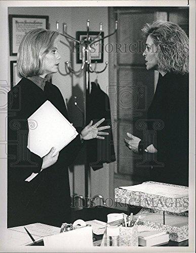 Vintage Photos 1990 Press Photo Actresses Jill Eikenberry & Susan Dey in L.ALaw