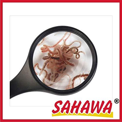 SAHAWA® Lebendfutter Tubifex 10x 45ml Beutel,Aquarienfischfutter