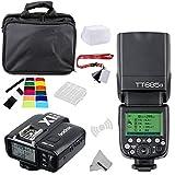 FOMITO Godox TT685N I-TTL II 2.4GHz Wireless Master/External Camera AutoFlash Speedlight & X1T-N Transmitter Trigger HSS for Nikon D810 D800E D7200 D60 D5500 DSLR Cameras, SB900 SB910 Flashes
