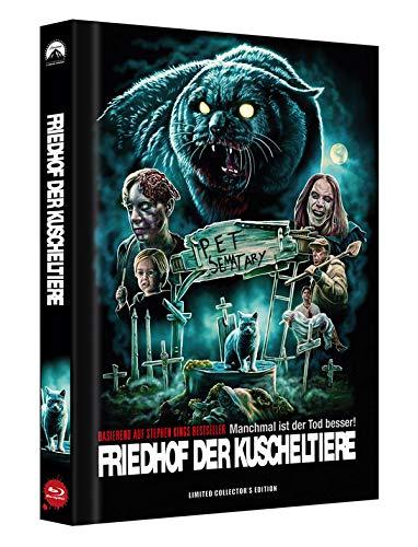 Friedhof der Kuscheltiere - Manchmal ist der Tod besser! - Mediabook - Cover D - Limited Collector's Edition auf 300 Stück - Uncut [Blu-ray]
