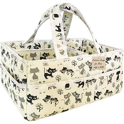 Baby Diaper Bag Organizer Unisex - Extra Large Baby Diaper Caddy Organizer...