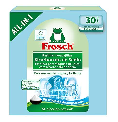 Frosch Lavavajillas a Maquina Pastillas Bicarbonato de Sodio - 600 gr