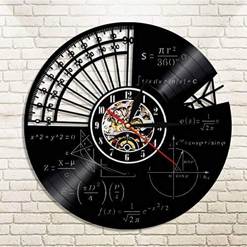 WYJIE Schallplatte Uhr Kaffee Hängen Stille Uhr Kaffee Liebhaber Geschenk Café Wand Dekorative Zeichen