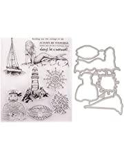 Clear Rubber Stamps for Scrapbooking Card Making