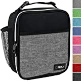 OPUX Premium Insulated Lunch Box | Soft Leakproof School Lunch Bag for Kids, Boys, Girls | Durable Reusable...