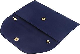 Baoblaze Damen Denim Envelope Clutch Handtasche Unterarmtasche Damentasche für Münzen, Kleingeld, Schlüssel und kleine Sache