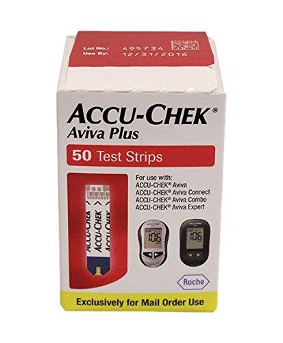 Accu-Chek Aviva Plus NFR Test Strips, 50 Count