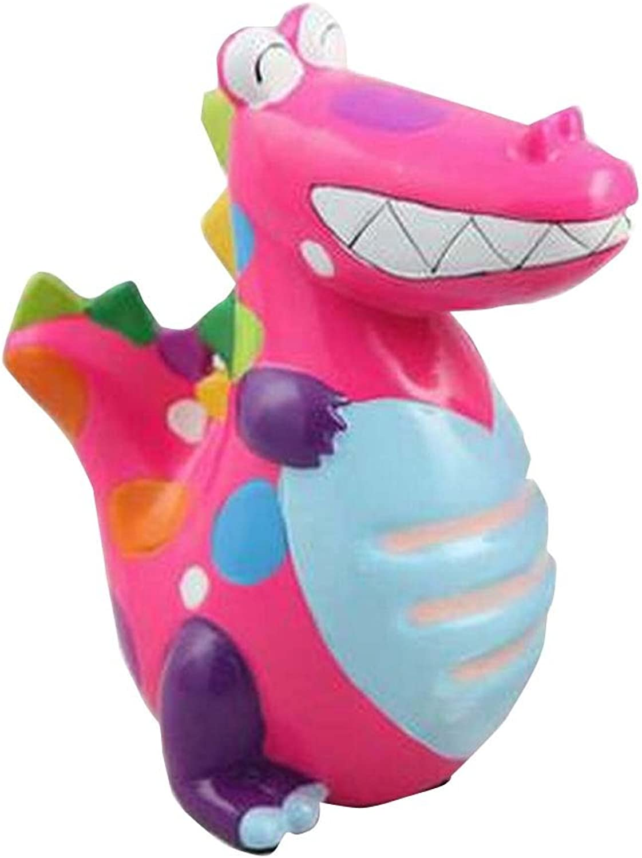 Cute Dinosaur Porcelain Kids Home Money Saving Pot
