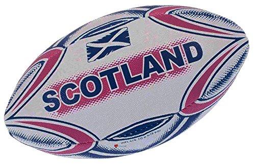 I Luv LTD Kids Boys Junior Size Midi Rugby Ball Scotland