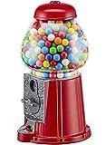 Hucha clásica en Forma de Máquina de Caramelos Retro. Hucha chicletera de Metal y Cristal, 23CM. 03930