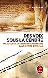 Des voix sous la cendre - Manuscrits des Sonderkommandos d'Auschwitz-Birkenau