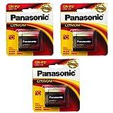 3x Panasonic CR-P2 6V Photo Lith Battery...