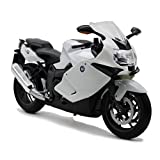 Welly 1:10 BMW K1300S Motorcycle Collection Model White New in Box