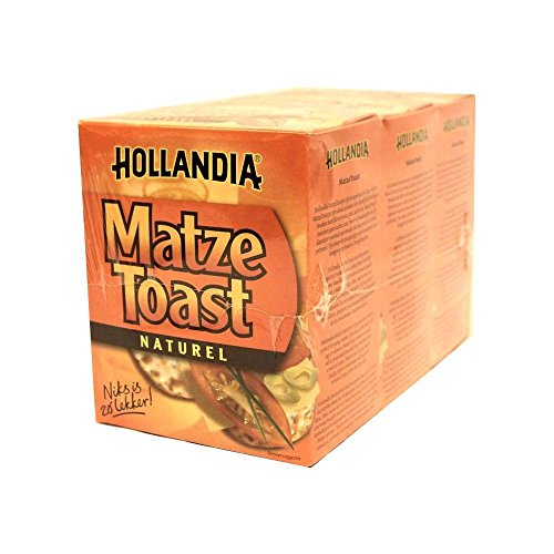 Hollandia Matze Toast Naturel 3 x 100g Packung