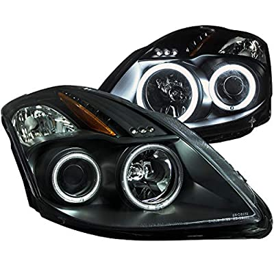 AnzoUSA Projector Headlight for Nissan Altima