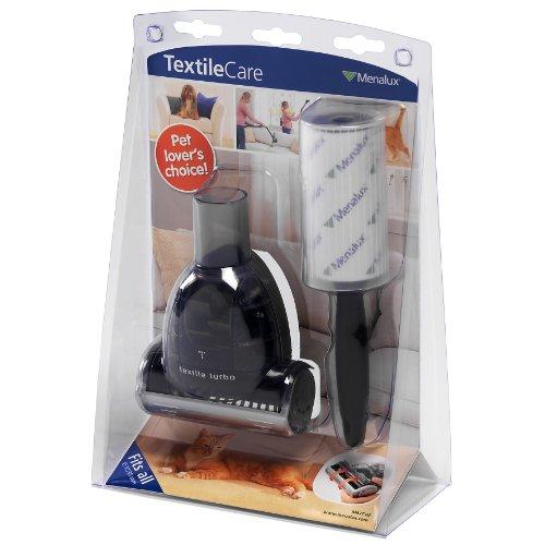 Menalux MKIT02 - Kit Textil Care para cuidar de sus ropas universal para todas las aspiradoras con adaptador 32 35 mm