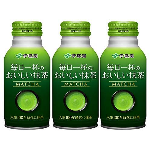 伊藤園 毎日一杯のおいしい抹茶 220ml 1セット(6缶)