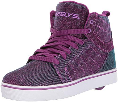 Heelys Herren Fitnessschuhe, Mehrfarbig (Purple/Aqua Colourshift 000), 40.5 EU