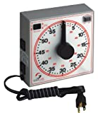 GraLab Model 171 60 Minute General Purpose Timer, 7-1/2' Length x 7-1/2' Width x 2-1/2' Height, +/-0.015% Accuracy