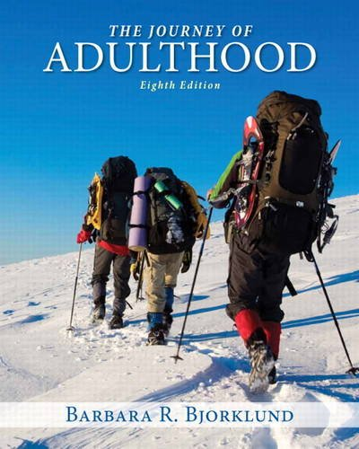 Journey of Adulthood (8th Edition)