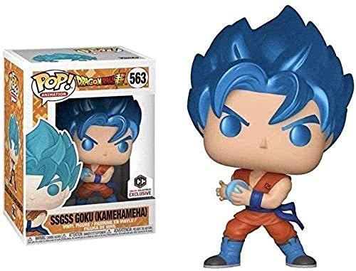 A-Generic Pop Vinyl CQ Dragon Ball Super # 563 SSGSS Goku (Kamehameha) Excluye el Vinilo