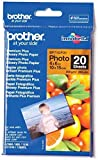 Brother BP71GP20 - Pack de 20 hojas de papel fotográfico Glossy Premium 10x15 (260 g/m2)