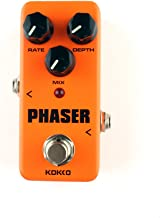 JUMP KOKKO Electric Guitar Effect Pedal True Bypass Full Metal Shell (PHASER)