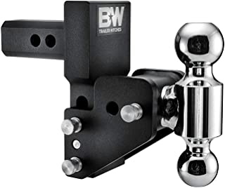 B&W Trailer Hitches B&W MultiPro Tow & Stow - Fits 2' Receiver, Dual Ball (2' x 2-5/16'), 2.5' Drop, 10,000 GTW