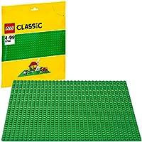 LEGO- 10700 Classic Byggplatta, Grön, 26 x 3 x 30,8 cm