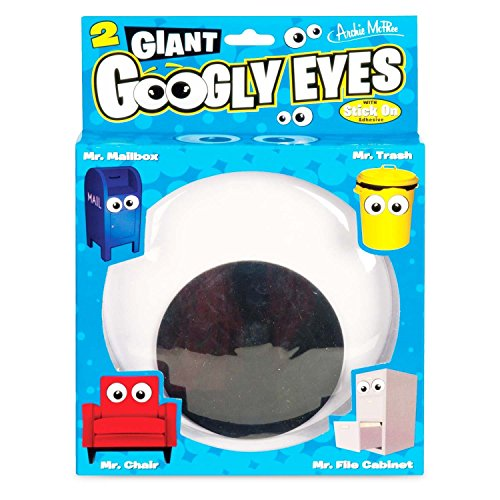 ArchieMcPhee Giant Christmas Tree Google Eyes (Set of 2)