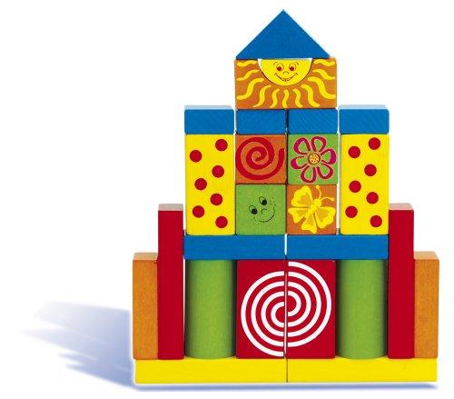 Heros 100024252 – Creativ Baby Blocs de Construction en Bois