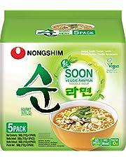 Nong Shim Fideos Instantáneos Veggie Ramyun, Family Pack 560 g