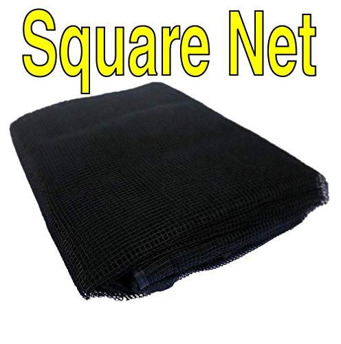 Square 13 ft x 13 ft Trampoline Replacement Net | Fits 4 Arches Using Sleeves | Fits Skywalker Trampolines