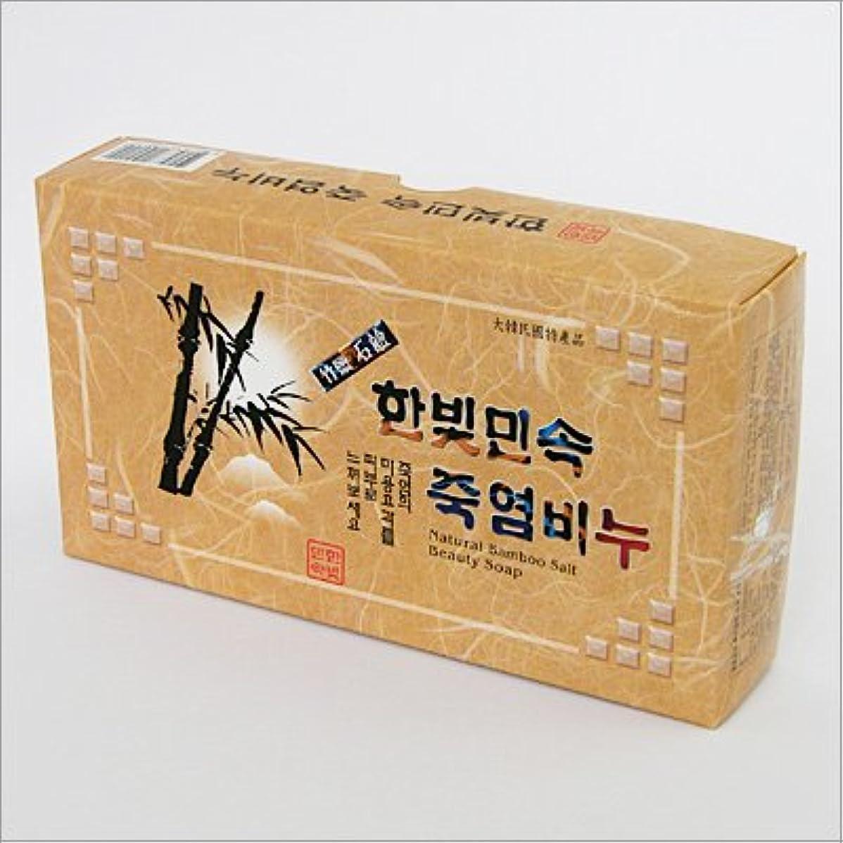 寛解干ばつトラップ(韓国ブランド) 韓国 竹塩石鹸(3個セット)