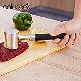 Martillo De Carne De Acero Inoxidable 316 Cocina Hogar Solomillo De Cerdo Soldador Batidor De Carne Martillo De Carne Tierna