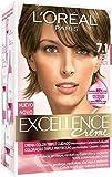 L'Oréal Paris Coloración Excellence Crème Triple Protección 7.1 Rubio Ceniza - 268 gr