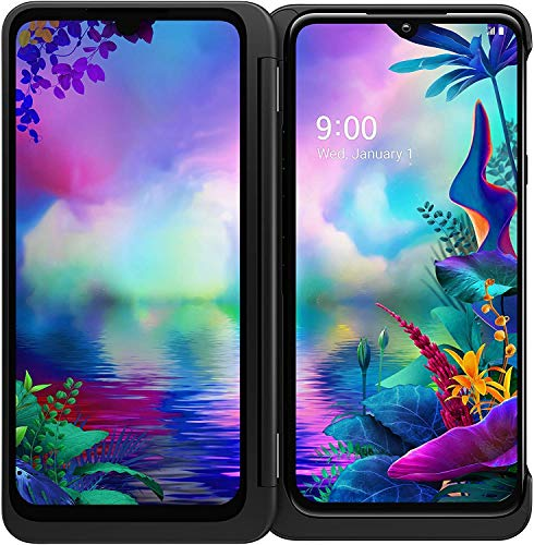 LG G8X ThinQ Dual Screen Unlocked CDMA GSM Cell Phone - 6.4' FHD+ OLED Display 2340 x 1080,...