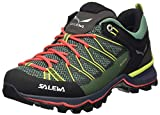 Salewa WS Mountain Trainer Lite Gore-Tex, Trekking-& Wanderstiefel Mujer, Verde (Feld Green/Fluo Coral 5585), 43 EU