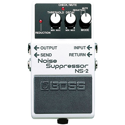 Boss NS-2 Noise Suppressor + fuente de alimentación keepdrum 9 V